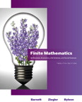 Finite Mathematics for Business, Economics, Life Sciences and Social Sciences, 12/e/e