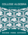 College Algebra, 4/e [book cover]