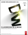 Adobe Dreamweaver CS5 Classroom in a Book, 1/e [book cover]