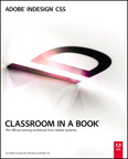 Adobe InDesign CS5 Classroom in a Book, 1/e [book cover]