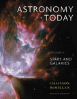Astronomy Today, Volume 2: Stars and Galaxies, 7/e [book cover]