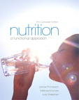 Nutrition: A Functional Approach, Canadian Edition, 3/e [book cover]