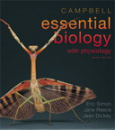 Campbell Essential Biology with Physiology, 4/e [book cover]