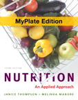 Nutrition: An Applied Approach, MyPlate Edition, 3/e [book cover]