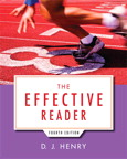 The Effective Reader, 4/e [book cover]