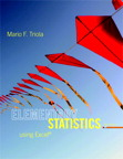 Elementary Statistics Using Excel, 5/e [book cover]