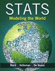 Stats: Modeling the World, 4/e/e
