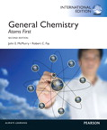 General Chemistry: Atoms First, International Edition, 2/e [book cover]