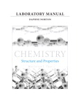 Laboratory Manual for Chemistry: Structure and Properties, 1/e/e