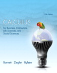 Calculus for Business, Economics, Life Sciences, and Social Sciences, 13/e [book cover]