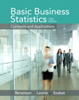 Basic Business Statistics, 13/e/e
