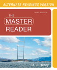 The Master Reader, Alternate Edition, 3/e [book cover]