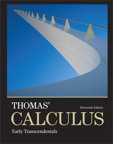 Thomas' Calculus: Early Transcendentals, 13/e/e