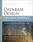 Database Design for Mere Mortals: A Hands-On Guide to Relational Database MyITCertificationlab [book cover]