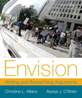 Envision: Writing and Researching Arguments, 4/e [book cover]
