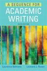 A Sequence for Academic Writing, 6/e [book cover]