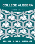 College Algebra with Integrated Review, 1/e [book cover]
