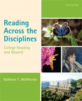 Reading Across the Disciplines: College Reading and Beyond, 6/e [book cover]