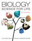 Biology: Science for Life with Physiology, 5/e [book cover]