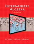 Intermediate Algebra, 12/e [book cover]