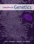 Concepts of Genetics, 11/e [book cover]