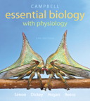 Campbell Essential Biology with Physiology, 5/e [book cover]