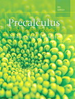 Precalculus: A Right-Triangle Approach, 5/e [book cover]