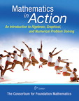 Mathematics in Action: An Introduction to Algebraic, Graphical, and Numerical Problem Solving, 5/e [book cover]