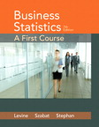 Business Statistics: A First Course, 7/e [book cover]