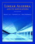 Linear Algebra and Its Applications, 5/e [book cover]