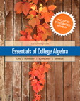 Essentials of College Algebra with Integrated Review, 1/e [book cover]