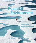 Essential Environment: The Science behind the Stories, 5/e [book cover]