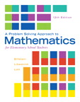 A Problem Solving Approach to Mathematics for Elementary School Teachers, 12/e [book cover]
