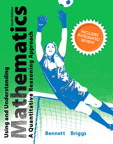 Using and Understanding Mathematics with Integrated Review, 1/e [book cover]