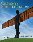 Contemporary Human Geography, 3/e [book cover]