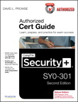 CompTIA Security+ SY0-301 Authorized Cert Guide, Deluxe Edition, 2/e [book cover]
