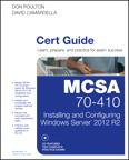MCSA 70-410 Cert Guide MyITCertificationlab [book cover]