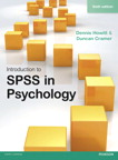 Introduction to SPSS in Psychology, 6/e [book cover]