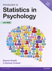 Introduction to Statistics in Psychology, 6/e [book cover]