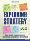 Exploring Strategy Text Only, 10/e [book cover]