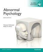 Abnormal Psychology, Global Edition, 8/e [book cover]