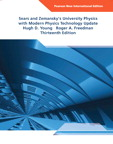University Physics with Modern Physics, Technology Update: International Edition, 13/e [book cover]