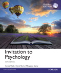 Invitation to Psychology, Global Edition, 6/e [book cover]