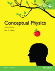 Conceptual Physics, Global Edition, 12/e [book cover]