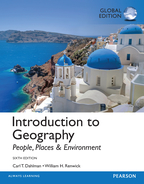 Introduction to Geography: People, Places & Environment, Global Edition, 6/e [book cover]