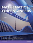 Mathematics for Engineers, 4/e [book cover]