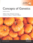 Concepts of Genetics: Global Edition, 11/e [book cover]