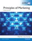Principles of Marketing, Global Edition, 16/e [book cover]
