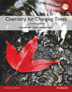 Chemistry For Changing Times, Global Edition, 14/e [book cover]