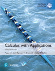 Calculus with Applications, Global Edition, 11/e [book cover]